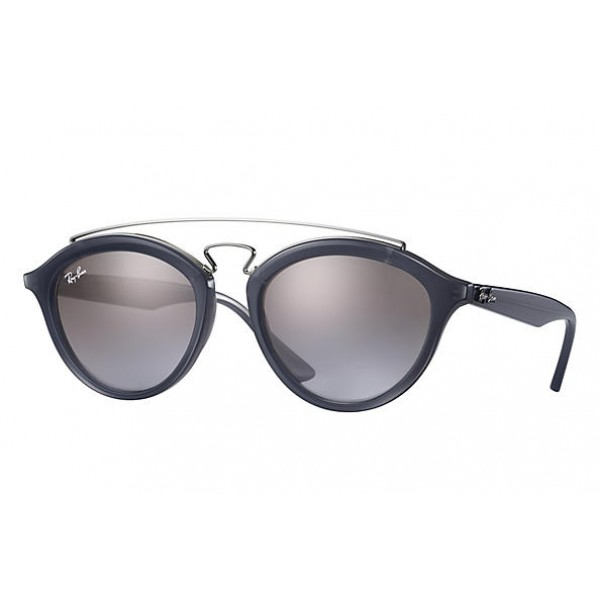 4fa0fa51cd Cheap Ray Ban Gatsby RB4257 Sunglasses Blue Frame Brown Violet ...