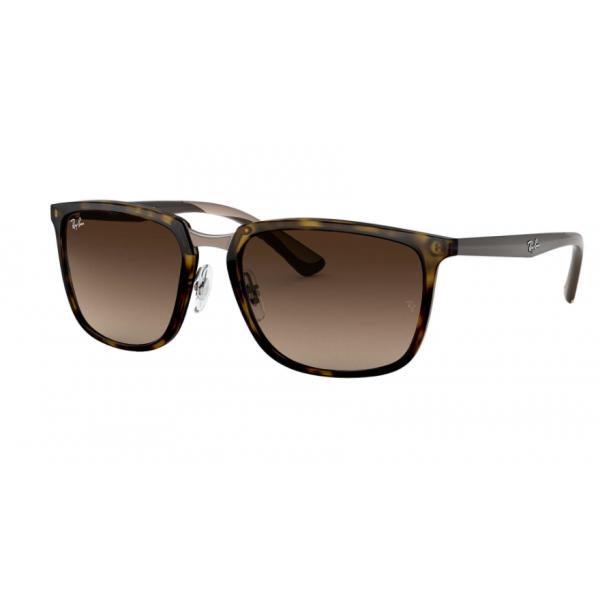 e7262830b1 Cheap Ray Bans Sunglasses RB4303 Tortoise Black Frame Brown Gradient ...