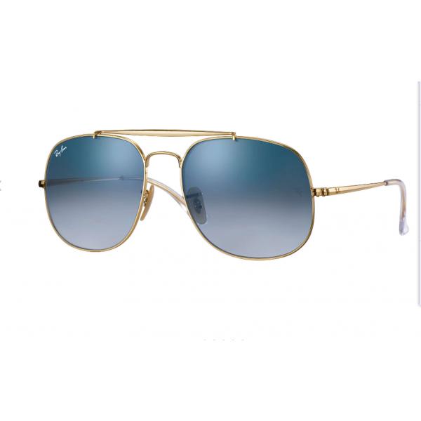 1b841755fe7 Replica Ray Bans Sunglasses General RB3561 Gold Frame Green Blue ...
